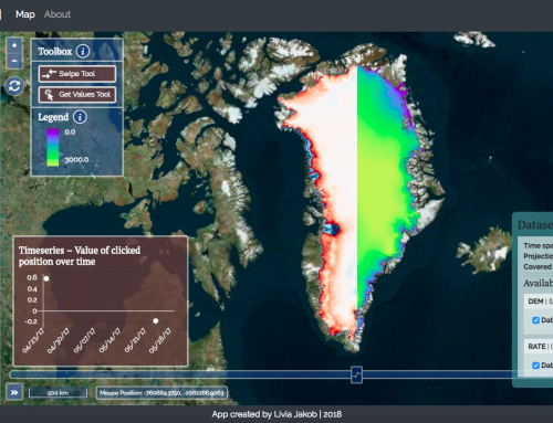 IceExplorer – The Visual Interface for CryoSat Data Products